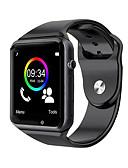 baratos Smart watch-A1 relógio de pulso bluetooth smart watch esporte pedômetro suporte sim tf cartão para android smartphone smartwatch
