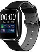 baratos Smart watch-Relógio inteligente Digital Estilo Moderno Esportivo Silicone 30 m Impermeável Monitor de Batimento Cardíaco Bluetooth Digital Casual Ao ar Livre - Preto / cinza Preto / Vermelho Laranja