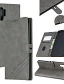 baratos Cases & Capas-Capinha Para Samsung Galaxy A6 (2018) / Galaxy A7(2018) / A3 (2017) Carteira / Porta-Cartão / Com Suporte Capa Proteção Completa Sólido PU Leather