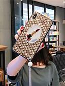baratos Capinhas para iPhone-caso para apple iphone xs / iphone xr / iphone xs max / 7 8 plus / 6splus 6 à prova de choque / strass / espelho tampa traseira brilho brilho acrílico