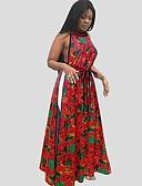 olcso Blúz-Női Blúz - Virágos Fekete