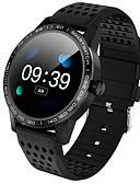 olcso Okos órák-Intelligens Watch Digitális Modern stílus Sportos Szilikon 30 m Vízálló Szívritmus monitorizálás Bluetooth Digitális Alkalmi Szabadtéri - Fekete Medence