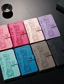 Χαμηλού Κόστους Θήκες & Καλύμματα-θήκη για το γαλαξία samsung α10 / a30 / a50 πορτοφόλι / κάτοχος κάρτας / με βάση πλήρους περιβλήματος σώματος στερεό χρωματιστό / animal pu δέρμα για γαλαξία a10e / a70 / a20e / a20 / a60 / a80 / a90