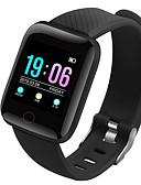 baratos Smart watch-Relógio inteligente Digital Estilo Moderno Esportivo Silicone 30 m Impermeável Monitor de Batimento Cardíaco Bluetooth Digital Casual Ao ar Livre - Preto Verde Roxo