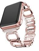 billige Smartwatch Bands-Klokkerem til Apple Watch Series 5/4/3/2/1 Apple Smykkedesign Rustfritt stål Håndleddsrem