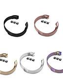 ราคาถูก ฟิล์มกันรอยสำหรับนาฬิกาอัจฉริยะ-สายนาฬิกาสำหรับ huawei honor band 4 / honor band 5 huawei milanese loop สแตนเลสสายรัดข้อมือ