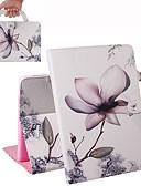 billige iPhone-etuier-etui til ipad air / ipad 4/3/2 / ipad (2018) lommebok / kortholder / støtsikker helkroppsvesker magnolia pu skinnveske til ipad air 2 / ipad (2017) / ipad pro 9.7