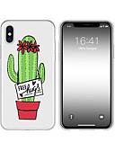 billige Etuier/deksler til Huawei-etui til iphone x xs maks xr xs bak veske mykt deksel tpu kreativt mønster kaktus myk tpu for iphone5 5s se 6 6p 6s sp 7 7p 8 8p16 * 8 * 1