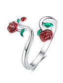 billige Ringbærerdresser-rose open ring lady 925 justerbar ring i sterling sølv