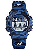ราคาถูก นาฬิกาดิจิทัล-SKMEI เด็กผู้ชาย นาฬิกาดิจิตอล ดิจิตอล ยางทำจากซิลิคอน ฟ้า / เขียว / สีกรมท่า 50 m กันน้ำ นาฬิกาปลุก นาฬิกาจับเวลา ดิจิตอล มาใหม่ แฟชั่น - สีเขียว ฟ้า น้ำเงินเข้ม