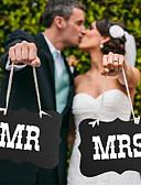 ราคาถูก ของประดับตกแต่งงานแต่งงาน-ภาพถ่ายบูธ อุปกรณ์ประกอบฉาก และป้าย / เครื่องประดับจัดงานแต่งงาน ปาร์ตี้ / เทศกาล การแต่งงาน ทุกฤดู