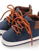 povoljno Gaćice-Dječaci Cipele za bebe Pamuk / PU Čizme Dojenčadi (0-9m) / Dijete (9m-4ys) Crn / Dark Blue / Sive boje Jesen / Zima