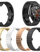 baratos Bandas de Smartwatch-Pulseiras de Relógio para Huawei Assista GT Huawei Modelo da Bijuteria Aço Inoxidável Tira de Pulso