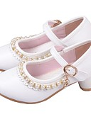 povoljno Kompletići za djevojčice-Djevojčice Obuća za male djeveruše Mikrovlakana Cipele na petu Mala djeca (4-7s) Štras Obala / Pink Ljeto