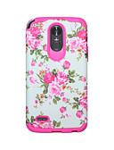 Χαμηλού Κόστους Θήκες iPhone-tok Για LG LG StyLo 3 Ανθεκτική σε πτώσεις / Ανθεκτικό στο Νερό Πίσω Κάλυμμα Τοπίο / Λουλούδι PC / Silica Gel