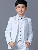 povoljno Kompletići za dječake-Djeca Dječaci Osnovni Jednobojni Dugih rukava Pamuk Odijelo i sako Obala