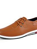 povoljno Muške duge i kratke hlače-Muškarci Formalne cipele Eko koža Zima / Jesen zima Ležerne prilike / Uglađeni Oksfordice Prozračnost Crn / Braon