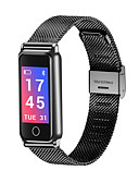 billige Quartz horlogesQuartz-y8 smart band hjertefrekvens blodtrykk fitness tracker smart armbånd rustfritt stål menn skinn smart armbånd