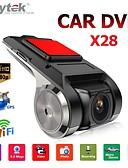 baratos Capinhas para iPhone-anytek x28 dash cam fhd dvr para carro 1080p gravador de vídeo gps para carro dvr de carro grande angular de 150 graus com wifi / mini / g-sensor / adas / loop-gravação / detecção de montion