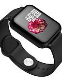 billige Smartwatch Bands-Smartklokke Digital Moderne Stil Sport Silikon 30 m Vannavvisende Pulsmåler Bluetooth Digital Fritid Utendørs - Svart Hvit Rosa
