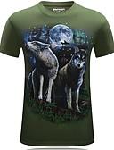 billige T-skjorter og singleter til herrer-T-skjorte Herre - Dyr Svart