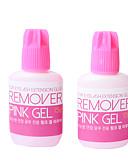 baratos Carregadores Rápidos-Removedor de gel rosa 5g para cola de extensão de cílios da Coréia remover extensões de cílios