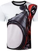 povoljno Muške majice s kapuljačom i trenirke-Majica s rukavima Muškarci - Osnovni Dnevno Jednobojni Print Magične kocke Obala