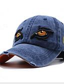Χαμηλού Κόστους Men's Hats-Ανδρικά Φλοράλ Βασικό Βαμβάκι Τζόκεϊ Μαύρο Λευκό Θαλασσί