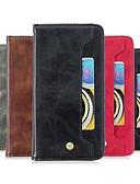 Χαμηλού Κόστους Θήκη Samsung-tok Για Samsung Galaxy Σημείωση της Samsung 10 / Galaxy Σημείωση 10 Plus Πορτοφόλι / Θήκη καρτών / Ανθεκτική σε πτώσεις Πλήρης Θήκη Μονόχρωμο PU δέρμα