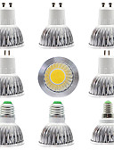 povoljno Zaštitne folije za iPhone-9pcs 7 W LED reflektori 300 lm E14 GU10 GU5.3 1 LED zrnca COB Zatamnjen New Design Toplo bijelo Bijela 220-240 V 110-120 V