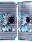 Χαμηλού Κόστους Αξεσουάρ Samsung-tok Για Samsung Galaxy A6 (2018) / Galaxy A7(2018) / A8 2018 Πορτοφόλι / Θήκη καρτών / με βάση στήριξης Πλήρης Θήκη Ζώο PU δέρμα