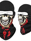 Χαμηλού Κόστους Λουλουδάτα φορέματα για κορίτσια-Νεκροκεφαλές Γιούνισεξ - Μαύρο /  Άσπρο Μαύρο / Κόκκινο Γκρίζο Ποδήλατο balaclavas Αναπνέει Γρήγορο Στέγνωμα Anti Transpirație Αθλητισμός Τερυλίνη Mohair Ποδηλασία Βουνού Ποδηλασία Δρόμου Ρούχα