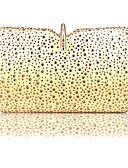 billige Våtdrakter, dykkerdrakter og våtskjorter-Dame Dusk Akryl / polyester Clutchveske Geometrisk mønster Gull / Svart / Sølv