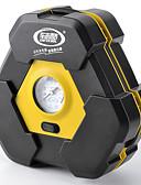 baratos Coletes-compressor de pneu de bomba de ar elétrica do carro 12v portátil auto com 3m longo cabo de alimentação estendida modelo comum de 19 cilindros