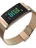Χαμηλού Κόστους Καλώδια & Φορτιστής-Έξυπνο ρολόι Ψηφιακό Μοντέρνο Στυλ Αθλητικό 30 m Ανθεκτικό στο Νερό Συσκευή Παρακολούθησης Καρδιακού Παλμού Bluetooth Ψηφιακό Καθημερινό Υπαίθριο - Μαύρο Χρυσό Ασημί
