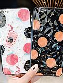 baratos Capinhas para Xiaomi-Capinha Para Xiaomi Redmi Note 5A / Xiaomi Redmi Note 5 / Xiaomi Redmi 6 Pro Anti-poeira / Estampada Capa traseira Comida / Desenho Animado PC