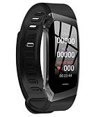 baratos Smart watch-Mulheres Relógio inteligente Digital Estilo Moderno Esportivo Silicone 30 m Impermeável Monitor de Batimento Cardíaco Bluetooth Digital Casual Ao ar Livre - Preto Dourado / Rosa Preto / Dourado