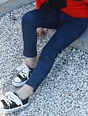 povoljno Haljine za djevojčice-Djeca Djevojčice Jednobojni Hlače Plava