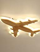 Χαμηλού Κόστους Περιπτώσεις AirPods-σχεδιασμός αεροσκάφους οδήγησε φως οροφής φινίρισμα φως φωτισμού φωτισμού περιβάλλοντος φως βαμμένο φινίρισμα ξύλινο για παιδικό δωμάτιο νηπιαγωγείο