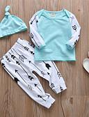 זול לבנים סטים של ביגוד לתינוקות-סט של בגדים שרוול ארוך טלאים בנים תִינוֹק