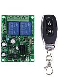 baratos Bandas de Smartwatch-Interruptor inteligente interruptor de relé ac220v 2ch 110 v 230 v com o código de aprendizado / lâmpada led / luz / power on off switch 433 mhz