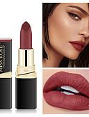 billige Lipgloss-1 pcs 18 farger Hverdagssminke Roterende Matt Fritid / hverdag Ny ankomst Sminke kosmetisk Pleieutstyr