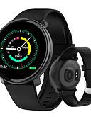 billige Smartwatch Bands-Smartklokke Digital Moderne Stil Sport Silikon 30 m Vannavvisende Pulsmåler Bluetooth Digital Fritid Utendørs - Svart Rød Blå