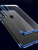 baratos Capinhas para Huawei-Capinha Para Huawei Huawei P20 / Huawei P20 Pro / Huawei P20 lite Antichoque / Ultra-Fina / Transparente Capa traseira Sólido / Transparente TPU