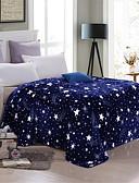 billiga Brudsjalar-Sängfiltar, Blommig / Tryck Polyester Mjuk Bekväm filtar