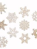 Χαμηλού Κόστους Πέπλα Γάμου-στολίδια ξύλου 10 Χριστούγεννα