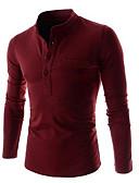 billige Poloskjorter til herrer-Polo Herre - Ensfarget Svart
