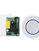 baratos Bandas de Smartwatch-Interruptor inteligente 1ch relé / ac85v-265v 1ch código de aprendizagem receptor de controle remoto / led / lâmpada de alimentação on / off 433 mhz