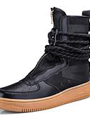 Χαμηλού Κόστους Αντρικά Πουλόβερ & Ζακέτες-Ανδρικά Fashion Boots Δέρμα / Πανί Φθινόπωρο / Φθινόπωρο & Χειμώνας Αθλητικό / Καθημερινό Μπότες Μπότες στη Μέση της Γάμπας Συνδυασμός Χρωμάτων Μαύρο / Λευκό / Πορτοκαλί