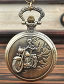 billiga Kvarts klockor-Herr Fickur Quartz Vintage Stil Brons Kreativ Ny Design Häftig Analog-digital Vintage - Brons